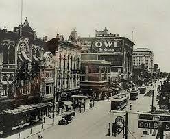 houston main street 1910