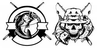 Premium Vector | <b>Fishing skull and</b> fishing logo design