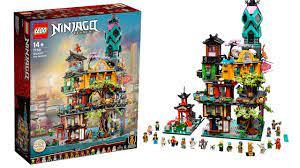 LEGO Ninjago City Gardens Set Builds Itself! - YouTube