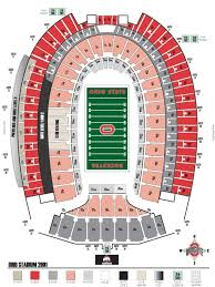 Osu Buckeye Stadium Seating Chart Ohio State Buckeyes 2018 Football Schedule
