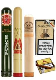cuban cigars mixed gift box free twin bladed cigar cutter