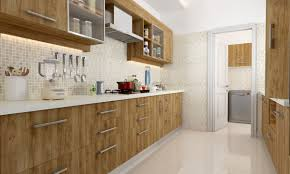 Modular Kitchen India Designs Buy Jenner Parallel Modular Kitchen Online In India Livspacecom