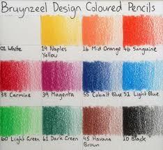 Pencils Bruynzeel Design Colour Pencils Review Artdragon86