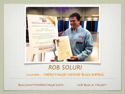 rob soluri | Heritage Home Builders