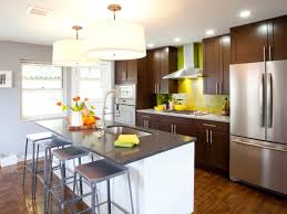 Best Kitchen Countertop Pictures: Color & Material Ideas. Hgtv KitchensSmall  Galley ...