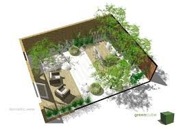 Small Picture greencube garden and landscape design UK Courtyard Gardens