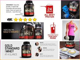 gold standard 100 whey protein powder
