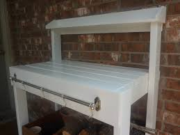 Potting Bench Plans Ana White Simple White Potting Bench Diy Projects