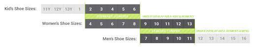 Mens Womens Sock Sizing Guide Boldsocks