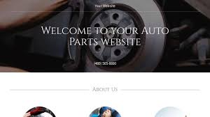 auto parts website template auto parts website templates godaddy