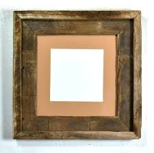 frame rustic reclaimed wood empty decor barn picture frames 16x20