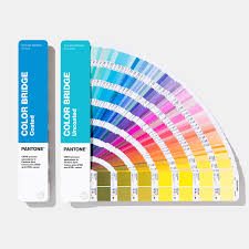 Pantone Coated Color Chart Pdf Color Bridge Guide Set Coated Uncoated