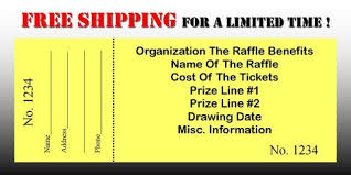 Raffle Tickets Printing Printing Of Raffle Tickets Cost Download Them Or Print