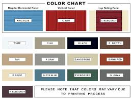 Steel Siding Colors Yurightman Co