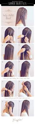 Hairstyle Easy Step By Step 40 of the best cute hair braiding tutorials diy projects for teens 7705 by stevesalt.us