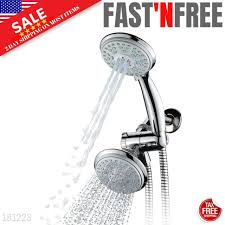 shower head filtered couradric high pressure rain shower head with removes chlo for