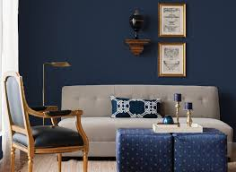 Living Room Colours Rich Navy Living Room Living Room Colours Rooms By Colour Cilca