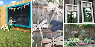 Wonderful Ideas For Decorative Garden Fence 15 Fantastic Ideas For  Decorating Your Garden Fence
