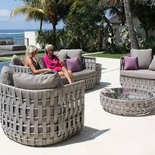skyline design strips 5 piece garden sofa suite
