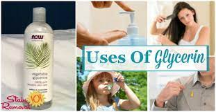 uses of glycerin for cleaning laundry