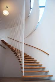... interior design architecture - Located in what is known as the Godzilla  House by Chae-Pereira Architects in Seoul, Korea, these suspended stairs  float ...