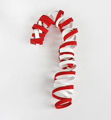 How To Decorate A Cane Cardboard Tube Candy Cane Decoration Kix Cereal 41