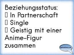 Beziehungsstatus In Partnerschaft Single Geistig Mit Einer