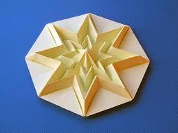 Hintergrundbilder Origamistar Decorazione Ornamento