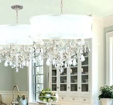 lamps plus drum chandelier drum shade crystal chandelier