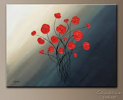 clair de lune abstract art painting image by carmen guedez