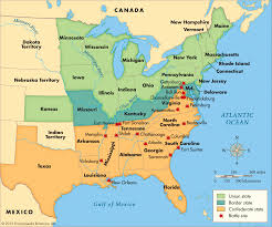 civil war battles map  thinglink