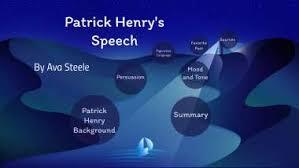 Patrick Henry Speech by Ava Steele