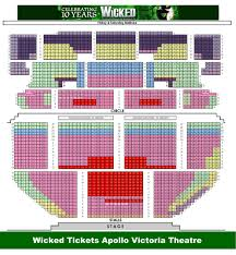 Victoria Palace Seating Chart Apollo Victoria Theatre Seating Plan London United Kingdom