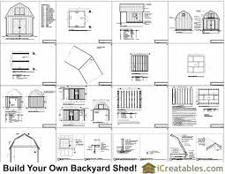 Gambrel Roof U2013 Barn Plans VIPGambrel Roof Plans