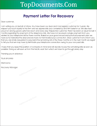 Short Of Payment Letter For Recovery Top Docx