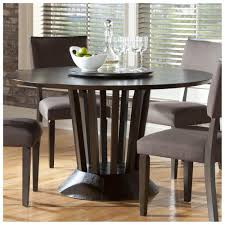 round kitchen table decor ideas. Mind Blowing Dining Room Design Ideas Using Round Table With Lazy Susan : Interactive Kitchen Decor