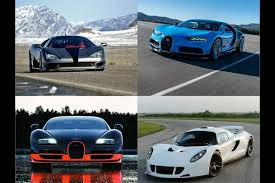 Near top speed, its special spoiler pivots to it only takes about 10 seconds for the bugatti veyron to come to a complete stop from top speed. Top 5 Fastest Production Cars In The World