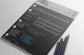 Free Adobe Illustrator Resume Cv Cover Letter Templates Best Free