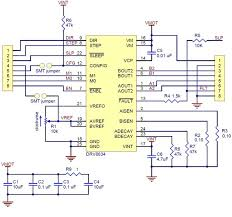 pololu drv8834 low voltage stepper motor driver carrier schematic diagram for the drv8834 low voltage stepper motor driver carrier