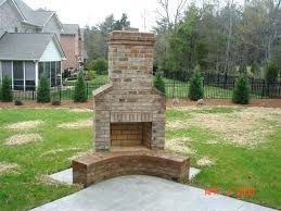 how to build an outside fireplace how to build your own outdoor fireplace stylish decoration building