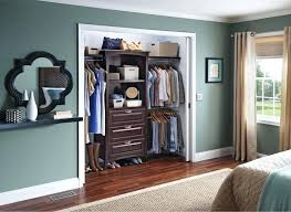 8 ft wood closet kit allen and roth pole bracket paint option by in park place the more turquoise y color i want but may not