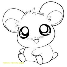 Hamster Coloring Pages Printable Roborovski Dwarf Page Free Picture