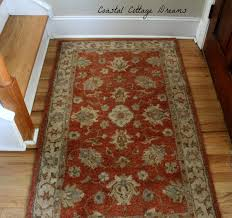 some pottery barn purchases recently i hit a great at pb here is what i bought so far i love this rug and the shade of rust blues olive greens and