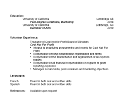Resume 101 Linear Combined And Targeted Examples 5th On