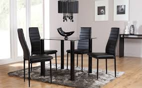 round black gl dining table tyres2c