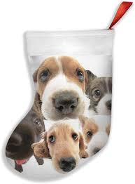 Animal Print Cute Dog Christmas ...