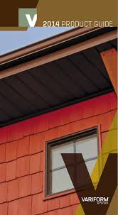 Ply Gem Gutter Color Chart 2014 Product Guide Lyon Metal Roofing