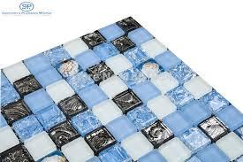 glass mosaic tile wall blue tile flooring kitchen blues glass blocks adhesive backsplash kitchen tiles pool