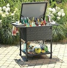 outdoor patio serving table bar cart plans furniture carts