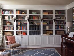 bookcases mesmerizing shelves built into wall how to build recessed cabinet white wooden with book chair